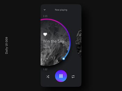 Daily UI 009 Music Player music player app music music player ui music player dark mode daily ui appuidesign appui app design dailyuichallenge dailyui