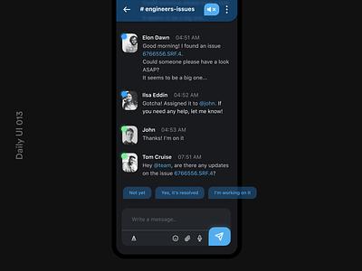 Daily UI 013 Messaging App figma dailyui013 daily ui 013 dailyui 013 messaging app message app design appuidesign appui app design daily ui dailyuichallenge dailyui