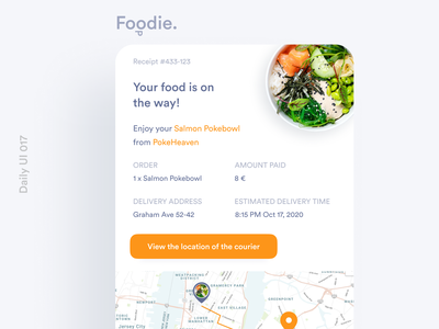 Daily UI 017 Email Receipt email receipt email design email daily ui 017 dailyui 017 daily ui dailyuichallenge dailyui