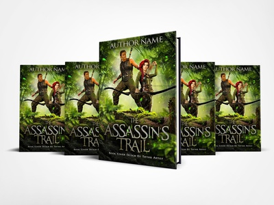 The Assassins Trail Book Cover Design
