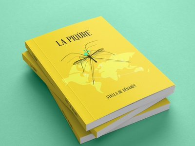 La Piqure twitter flickr adobe illustrator behance kindlecover booklet book cover typography web ux ui kindle vector book 3d book cover branding illustration books