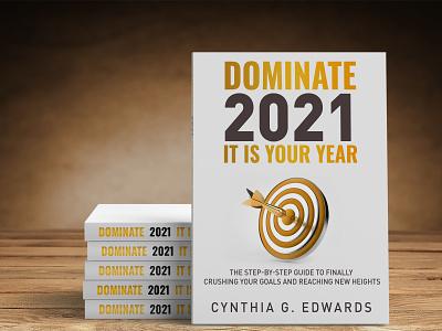 Dominate 2021 ui ux behance logo 3d book cover kindle vector book branding ebook cover design illustration books design ebook cover book cover design book cover kindlecover