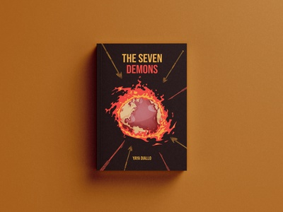 The seven demons book cover behance amazon kindle amazon kdp ebook design booklet 3d book cover branding ebook cover design illustration books ebook cover design book cover design book cover kindlecover