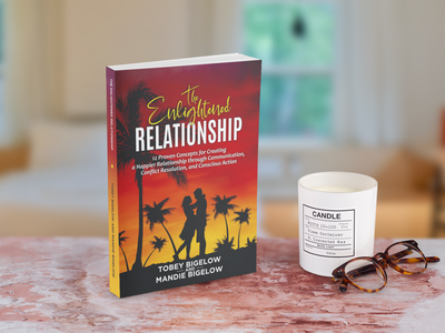 THE ENLIGHTENED RELATIONSHIP branding illustration ui logo ebook cover books design book cover design book cover kindlecover
