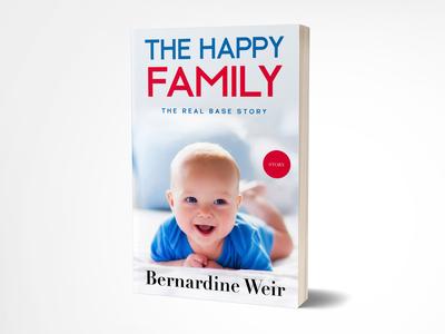 The Happy Family book cover design, ebook cover