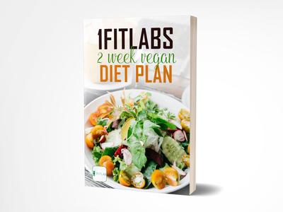 1fitlabs 2 weeks vegan diet plan book cover