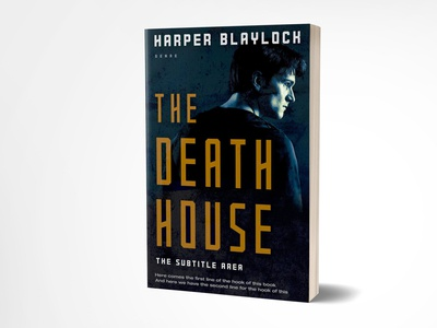The Death House Book Cover Design