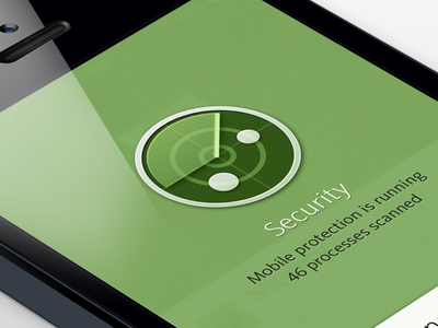 Mobile Security mobile app ios radar security scan iphone icon protection rebrand avira