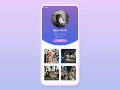 Daily UI 006 — User Profile