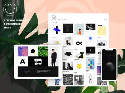 Monolab portfolio theme portfolio gallery portfolio personal portfolio graphic design freelance portfolio design studio design portfolio creative studio creative portfolio creative design creative agency creative agency design