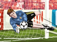 Packie Bonners Penalty Save