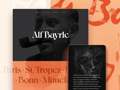 Alf Bayrle – Anniversary Exhibition bonn paris webflow exhibition painter fauvism art
