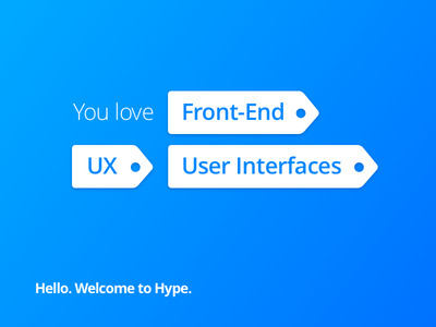 We Are Hiring! software germany bonn team innovation jobs ux ui code front-end design hype