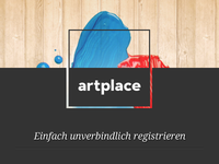 Artplace Sign Up