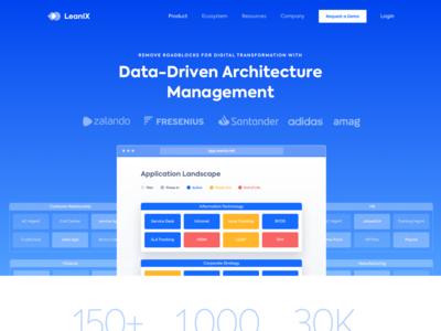 Leanix Product Website