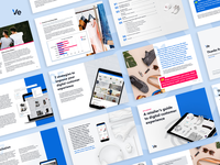 Customer Experience Report - page designs