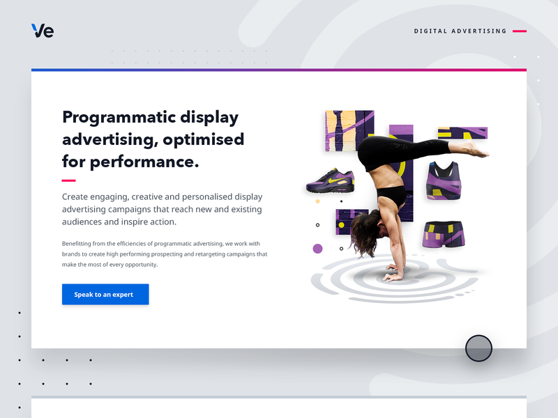Display Advertising web graphic profile customer experience website audience web digital ads ads display ads programmatic display advertising digital advertising retail typography illustration graphic design ecommerce personalisation graphic design branding