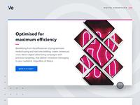 Cross-device digital advertising web graphic