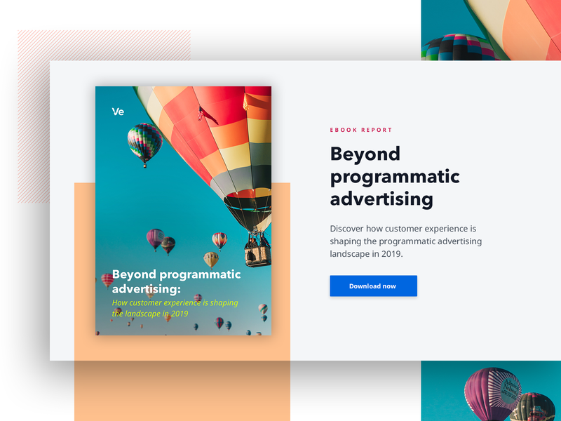 Beyond Programmatic Advertising Ebook By Ve Global On Dribbble