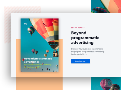 Beyond Programmatic Advertising eBook advertising agency resource magazine layout design cover art ebook book cover retargeting prospecting ads digital advertising display ads programmatic advertising ecommerce graphic branding typography graphic design