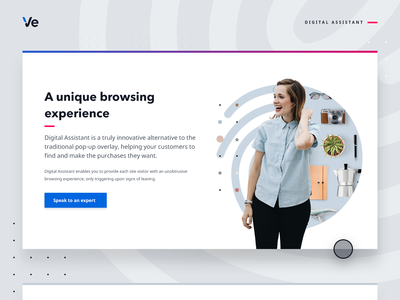 Customer engagement web graphic