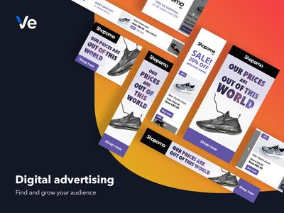 Digital Advertising Product Marketing Graphic