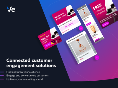 Connected Customer Engagement Solutions - Marketing Graphic