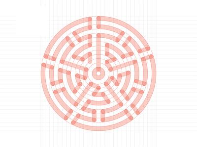 Zen pizza logo logotype logodesign minimal illustration design logo branding