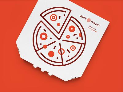 Zen pizza branding visual identity identity branding identity design logo branding animation