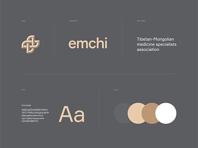 Emchi identity tibetan identity branding graphic design guidelines visual identity identity logotype logodesign logo design branding