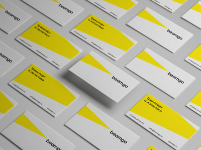 Beamgo branding cards brand design visual identity identity logodesign logotype branding