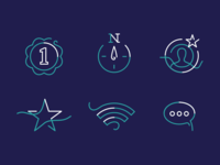 Old set of icons