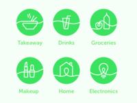 Quiqup Icons