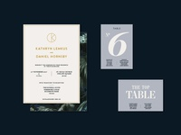 D&K wedding collateral