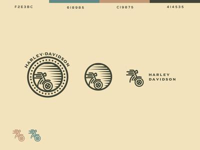 Harley-Davidson Logo Concept.
