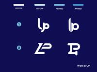 LP and lp Monogram Logos