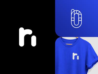 ( r + n ) Logo Monogram