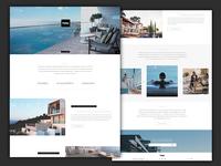 Property developer website concept design