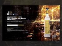 Stoli Original Bar & Club Awards 2017 - Web Design & Development