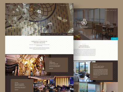The Four Seasons Hotel Cyprus website redesign