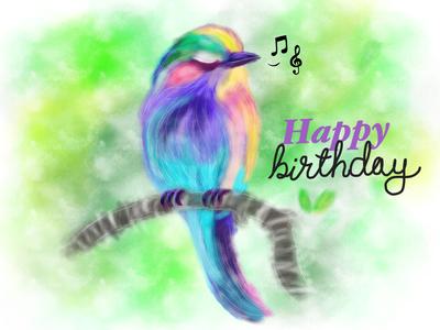 A Birthday Card For My Mom