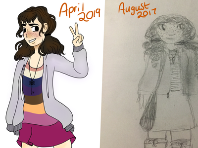 Amber (draw this again challenge)