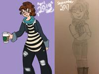 Eva (draw this again challenge)
