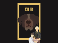 Minimal Cujo Poster