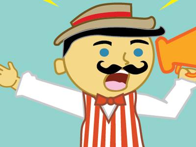 Carnival announcer