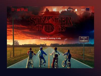 Netflix Landing Page