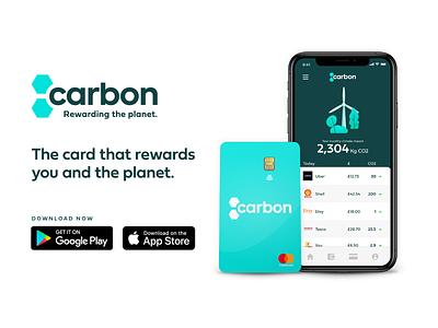 Carbon Brand Design haio bristol startup contactless logodesign logo uidesign ui app design creditcard branding design branding