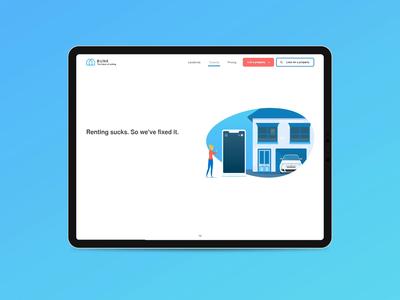 Bunk - Tenant Landing Page