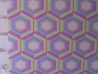 Hexagon pastel wallpaper by Design Mate