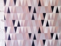 Triangle wallpaper by Design Mate